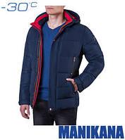 Зимняя куртка темно-синяя Manikana 17168