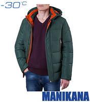Куртка зимняя зеленая Manikana 17168