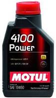 Масло моторное Motul MOTUL 4100 Power 15W-50 1L