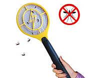Уничтожитель комаров, мух, ос- электрическая мухобойка