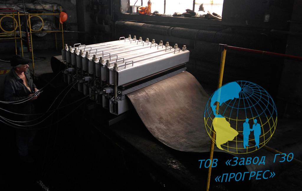 Успешно произведен и поставлен большой вулканизатор-пресс ВКЛП-1400/1800 на местную ТЭС