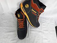 Кожаные мужские ботинки Timberland синий