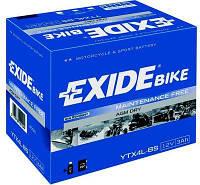 Аккумулятор АКБ 3Ah EXIDE ETX4L-BS (YTX4L-BS)