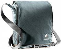Серая деловая сумка-планшет, на плечо ROADWAY DEUTER, 85023 7603