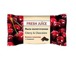 Fresh Juice Косметичне мило з ароматом «Вишня і шоколад» 75 грам