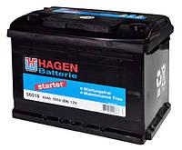Аккумулятор Hagen 6СТ-60 Евро (56019)