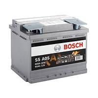 Аккумулятор Bosch AGM 6CT-60 ЕВРО (S5A050) (0092S5A050)
