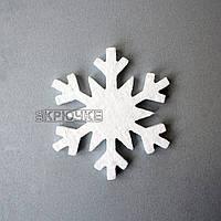 Пенопластовая снежинка №5, 150 мм