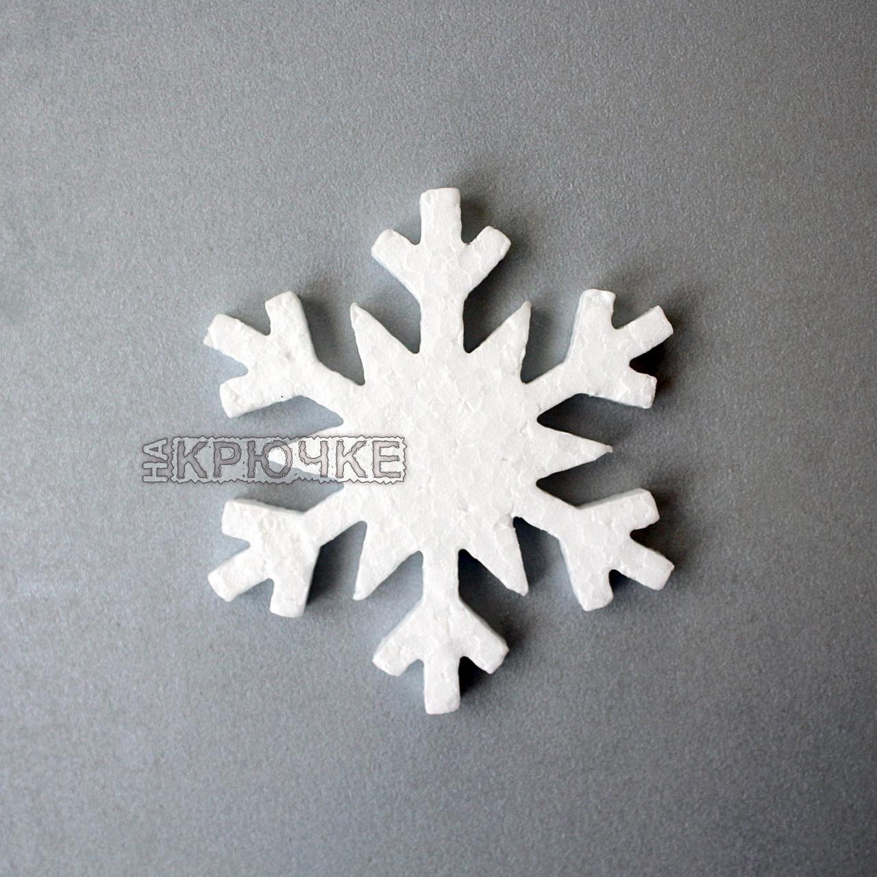 Пенопластовые снежинки №5, 250х20 мм