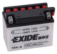 Аккумулятор 4 Ah 12V (кислотный) EXIDE YB4L-B АКБ (EB4L-B)