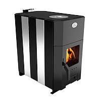 Отопительно-варочная печь «Огнев» дверца с термостойким стеклом