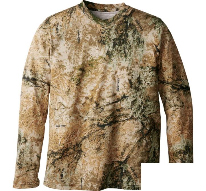 Футболка охотничья с длиным рукавом Lucky Zones Men's Hunting Zone 100% Cotton Long-Sleeve Tee Shirt