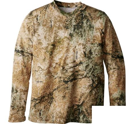 Футболка охотничья с длиным рукавом Lucky Zones Men's Hunting Zone 100% Cotton Long-Sleeve Tee Shirt, фото 2
