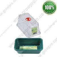 Мини парник зеленый премиум Garland 17х10х12