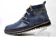 Зимние ботинки Clarks, кожа (Польша) Blue