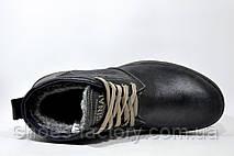Кожаные ботинки Clarks, зимние (Польша) Black, фото 2
