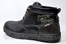 Кожаные ботинки Clarks, зимние (Польша) Black, фото 3