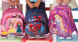 Школьные ранцы купить в Украине с барби пауком розовый синий для мальчиков для девочек
