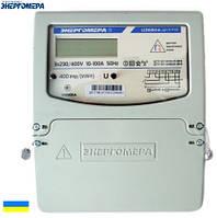 Электросчетчик Энергомера ЦЭ6804-U/1 220В 5-60А 3ф. 4пр. ЭР32  трехфазный однотарифный (Украина)