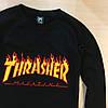 Thrasher свитшот женский • Бирка на живых фото • Трешер кофта, фото 4