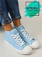 10-12 Голубые женские кроссовки Mariona 40,37