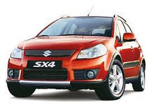 Поперечины на рейлинги SX4 (2006-2013)
