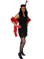 Платье Гангстерши,черное
