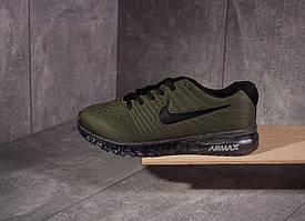 Кроссовки мужские Nike air  Max 2017 зеленые