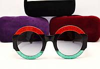 Женские солнцезащитные очки Gucci GG 0084/S (гуччи)