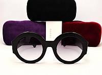 Женские солнцезащитные очки Gucci GG 0084/S (черный цвет)