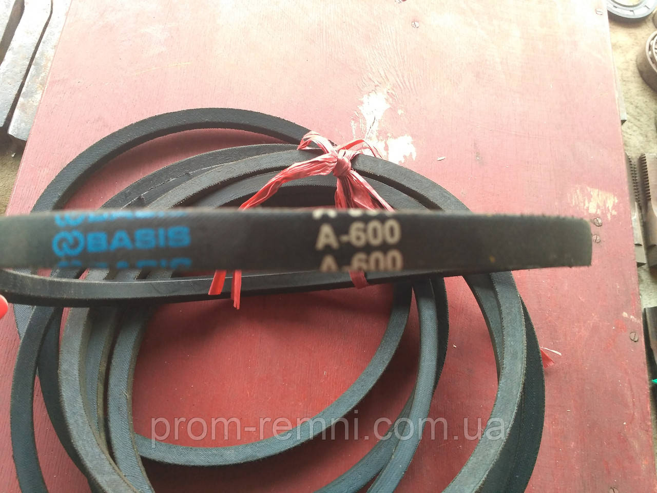 Приводний клиновий ремінь А-600 Basis, 600 мм