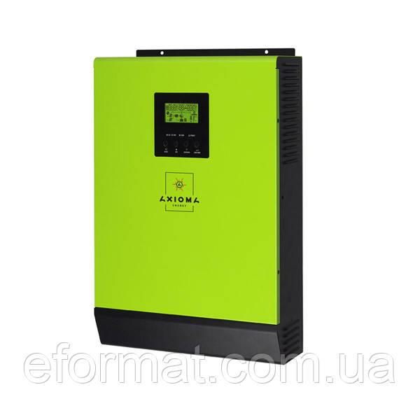Сетевой солнечный инвертор с резервной функцией Axioma energy ISGRID BF 5000, 5 кВт, 48 В