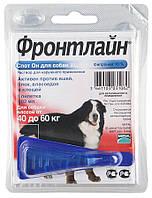 Frontline (Фронтлайн) капли для собак от блох и клещей 40-60кг