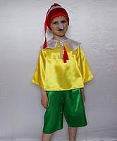 "Новогодний костюм для мальчика ""Буратино"", 3-7 лет"