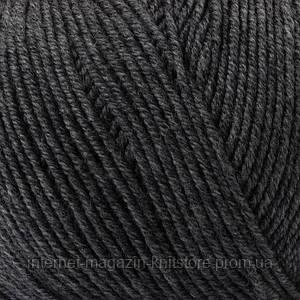 Пряжа Mondial Extrafine Superwash Серый темный