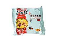 Китайская лапша рамэн быстрого приготовления курица-грибы Jml Instant Noodle 109г