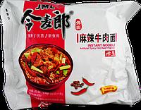 Китайская лапша  рамэн быстрого приготовления говядина остр. JML INSTANT NOODLE 109г
