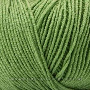 Пряжа Mondial Extrafine Superwash Зеленый