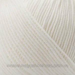 Пряжа Mondial Extrafine Superwash Белый
