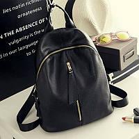 Черный рюкзак 0118