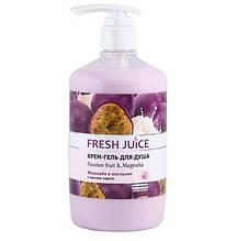 """Fresh Juice Крем-гель для душу """"Маракуя і Магнолія"""""""