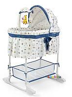 Колыбель Кроватка + карусель и постельное белье MILLY MALLY, фото 1