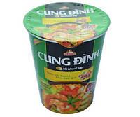Китайская лапша быстрого приготовления в баночке CUNG DINH 80г