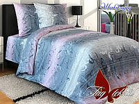 Комплект постельного белья Жаккард полуторный (TAG-294)