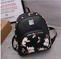 Черный  рюкзак 0119