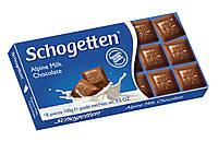 Шоколад schogetten молочный 100гр
