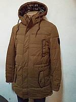 Мужская куртка зима трикотаж ткань пр-во Турция