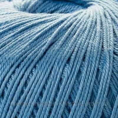 Пряжа Mondial Giza 5 синий