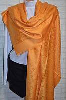 Шарф палантин в стиле Louis Vuitton (Луи Витон) оранжевый
