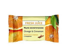 Fresh Juice Мыло косметическое «Апельсин и корица» 75 грамм